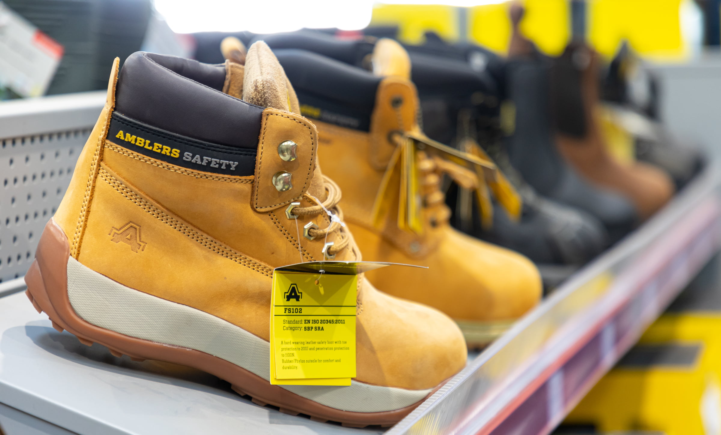 Safety Boots - Southwest Fixings
